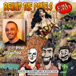 Phil Jimenez - Behind the Panels Interview Cover Art