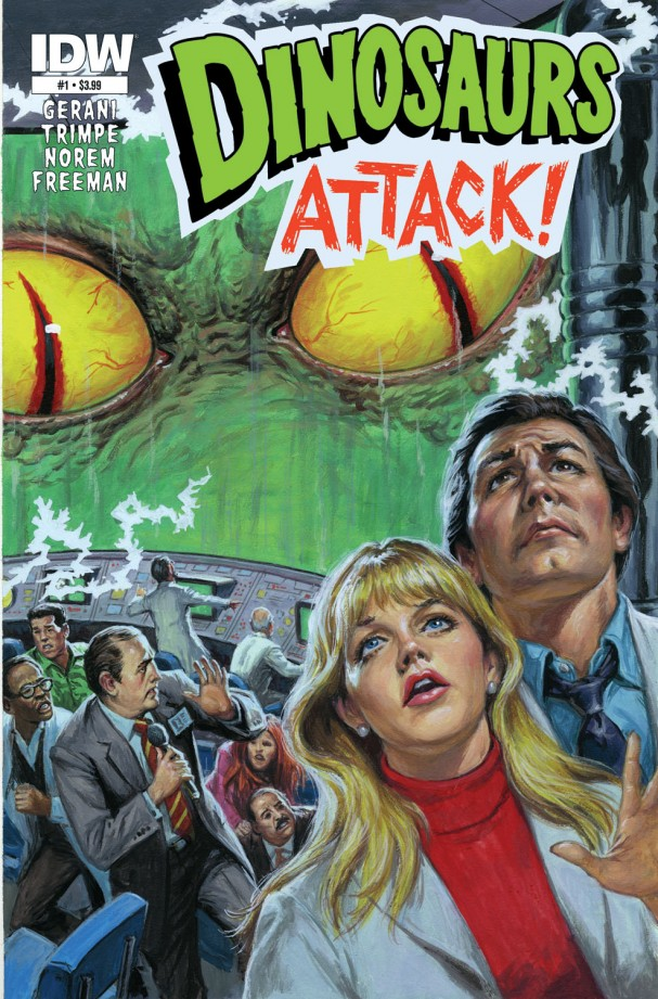 Dinosaurs Attack #1 (IDW) - Artist: Norem