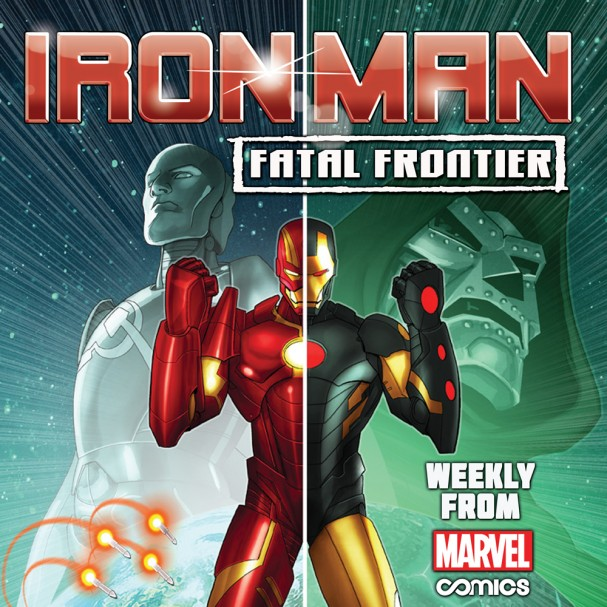 Iron Man Fatal Frontier 1 Cover