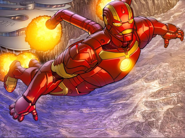 Iron Man Fatal Frontier 1 Preview