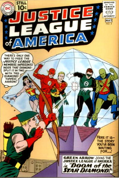 Justice League of America #4 (1961) - Green Arrow