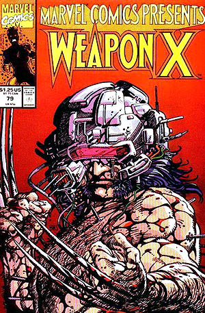 Marvel Comics Presents #79 (Wolverine: Weapon X)