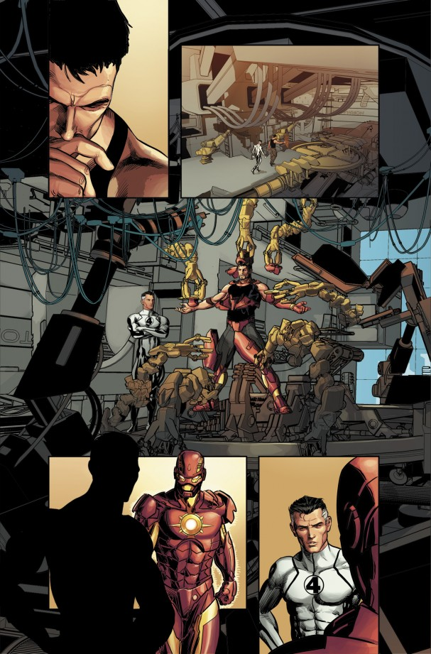 New Avengers #8 Preview 2 (Prelude to Infinity) - Mike Deodato
