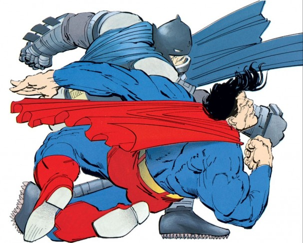 The Dark Knight Returns - Batman vs Superman - Frank MIller