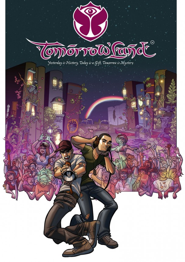 TomorrowLand #1 Cover