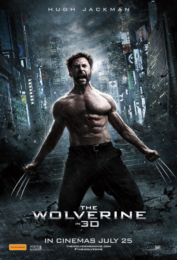 The Wolverine poster - Australia