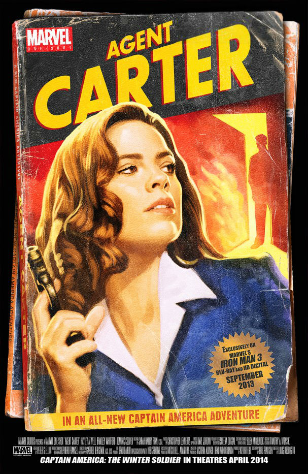 Marvel Short - AGENT CARTER (2013) Hayley Atwell poster