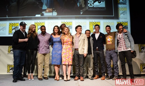 SDCC 2013 - Captain America: The Winter Soldier cast