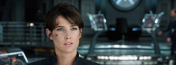 Cobie Smulders is Maria Hill