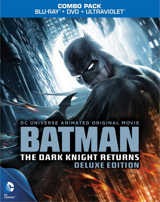 The Dark Knight Returns Deluxe Edition Blu-ray cover