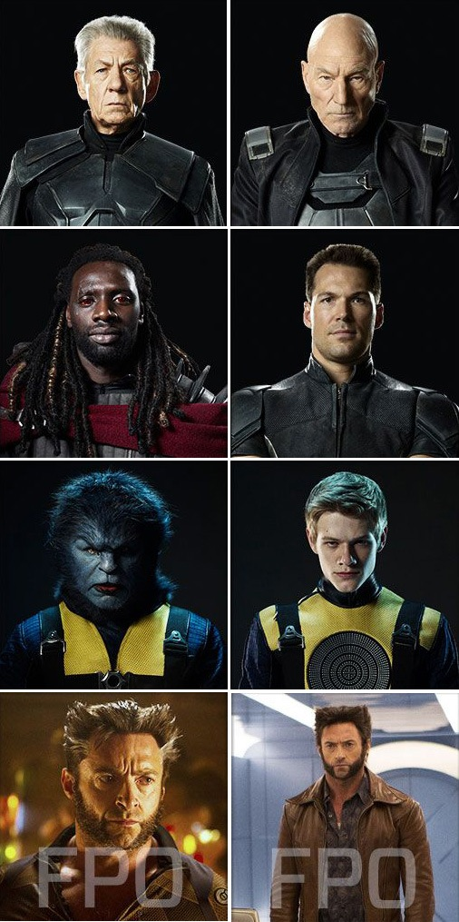 Days of Future Past character profiles