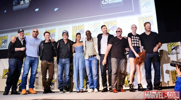 SDCC 2013 - Guardians of the Galaxy cast