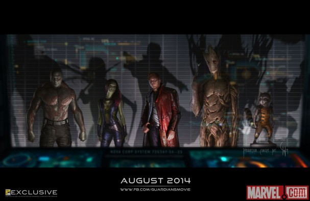 Guardians of the Galaxy concept art - SDCC 2013