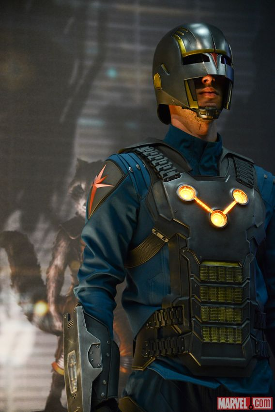 Guardians of the Galaxy (2014 Film) - Nova Corp Uniforms