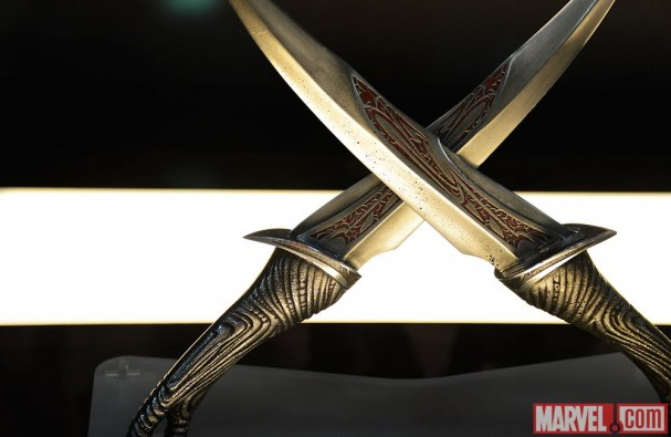 Guardians of the Galaxy (2014 Film) - Drax's sword blades
