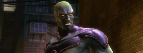 Injustice: Gods Amongst Us - Martian Manhunter DLC