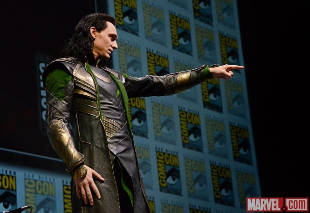 SDCC 2013 - Tom Hiddleston is Loki at Comic-Con