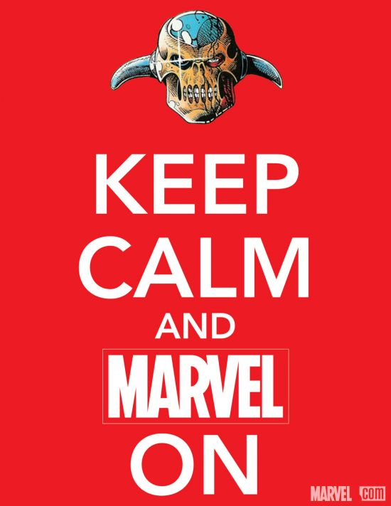 Keep Calm and Marvel On - Revolutionary War teaser