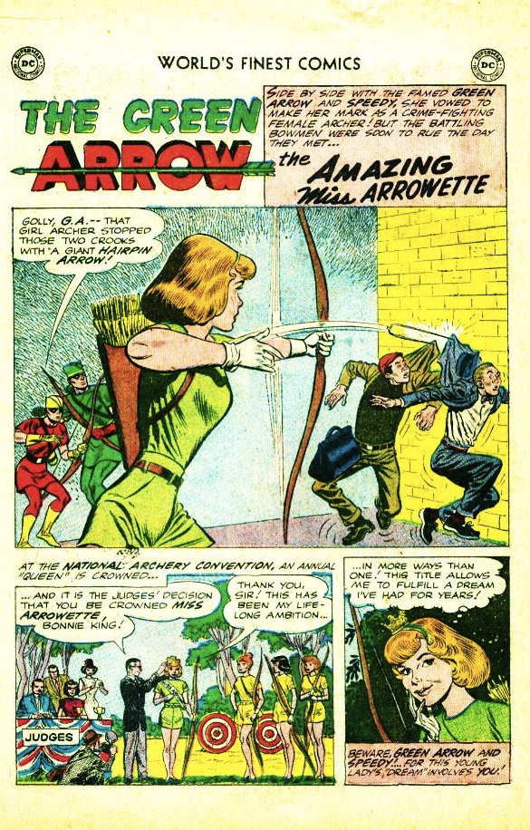 Miss Arrowette - World's Finest #113