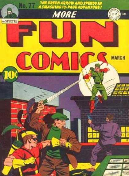 More Fun #77 (Green Arrow)