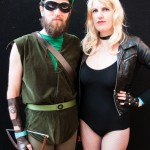 Oz Comic-Con Melbourne 2013 - Cosplay - Green Arrow and Black Canary