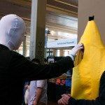 Oz Comic-Con Melbourne 2013 - Cosplay - Slender Man and Banana Man