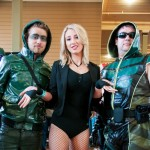 Oz Comic-Con Melbourne 2013 - Cosplay - Black Canary chooses her Green Arrow