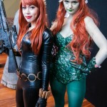 Oz Comic-Con Melbourne 2013 - Cosplay - Black Widow and Poison Ivy