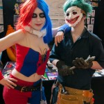 Oz Comic-Con Melbourne 2013 - Cosplay - Harley Quinn and Joker (Death of the Family)