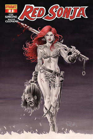 Red Sonja #1 - Nicola Scott cover