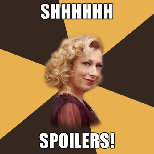 Spoilers Sweetie - River Song