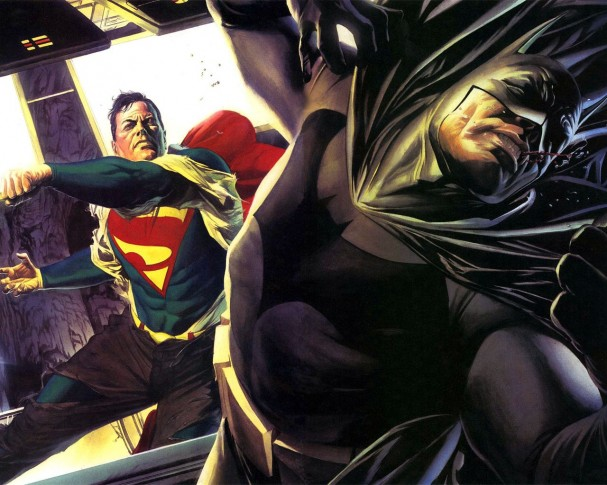 Justice - Batman vs Superman - Alex Ross