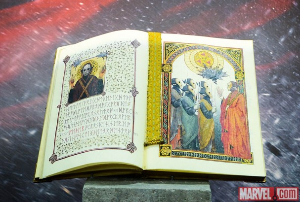 "The Book of Yggdrasil from ""Thor: The Dark World"""