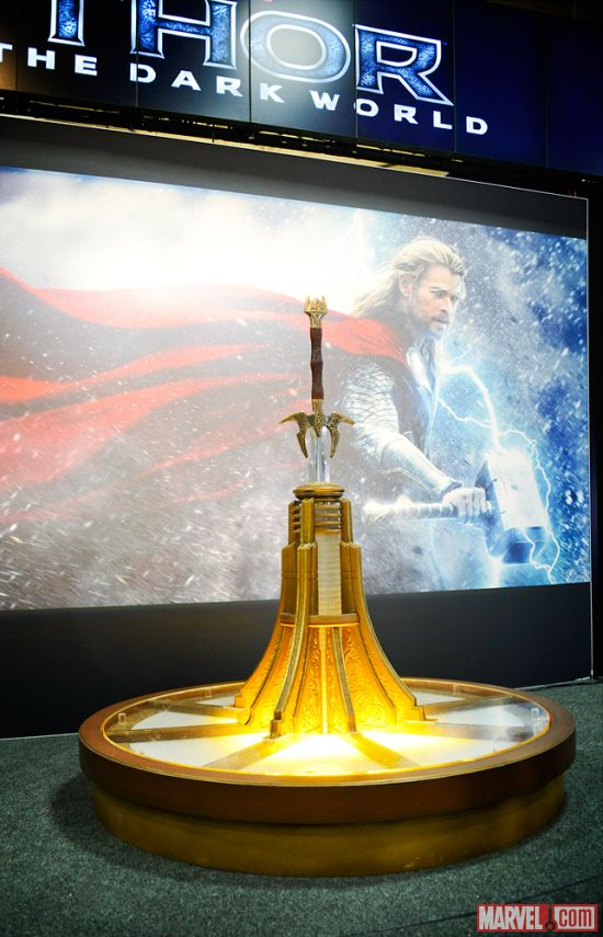 "Heimdall's sword from ""Thor: The Dark World"""