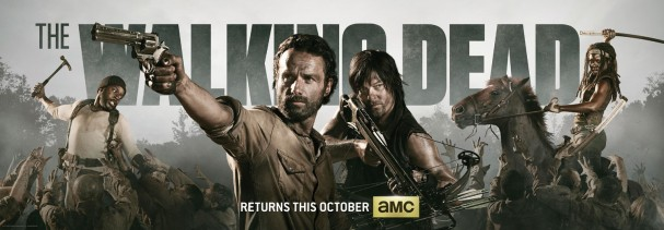 The Walking Dead Season 4 Banner
