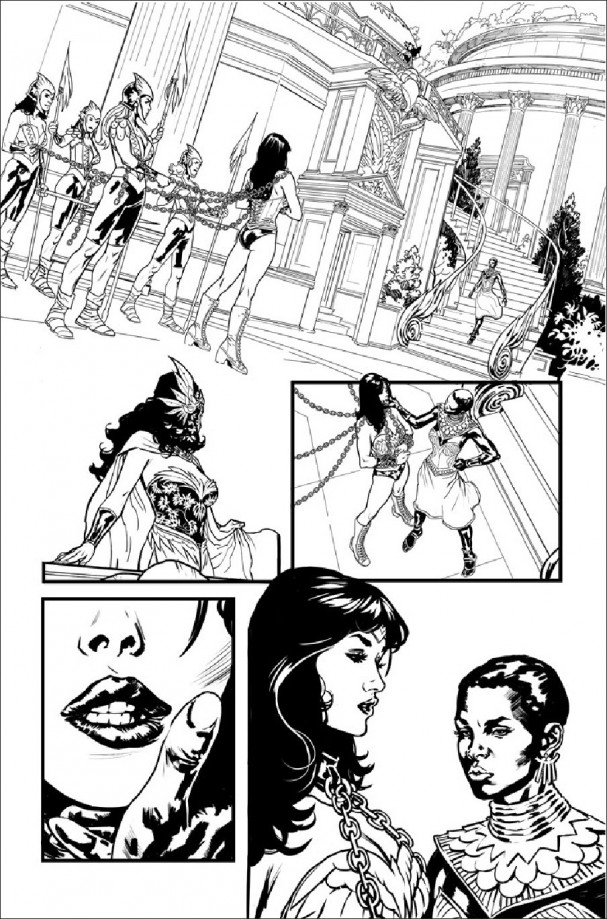 Wonder Woman: Earth One - Yanick Paquette