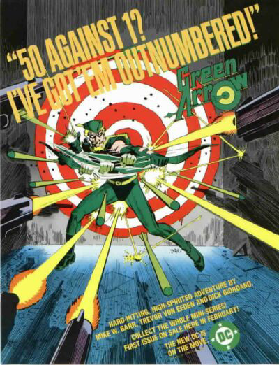 Poster for Green Arrow Mini-Series (1983)