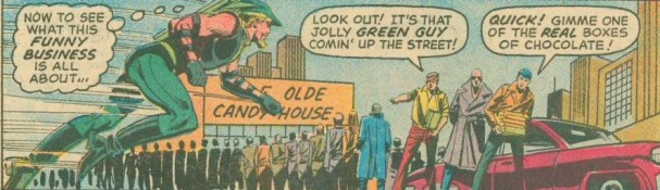 "Action Comics #424 - Green Arrow and Black Canary in ""The Candy Kitchen Caper!"""