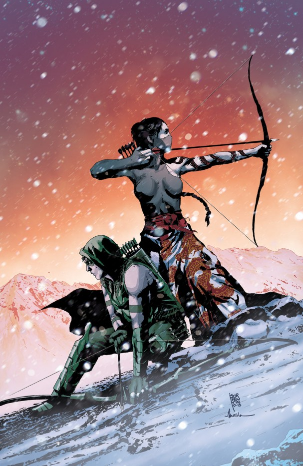 Green Arrow #23 (DC Comics) - Artist: Andrea Sorrentino
