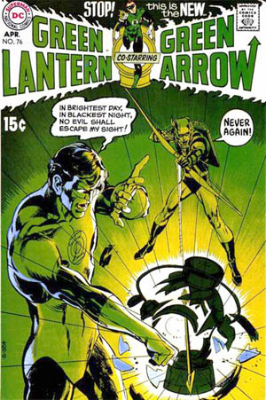Green Lantern/Green Arrow #76