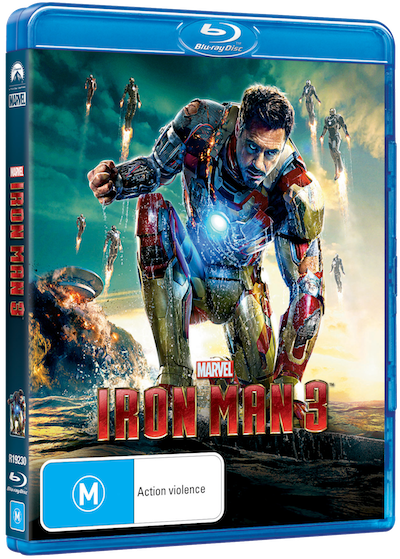 Iron Man 3 Blu-ray (Australia)