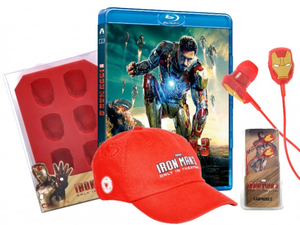 Iron Man 3 Blu-ray prize pack