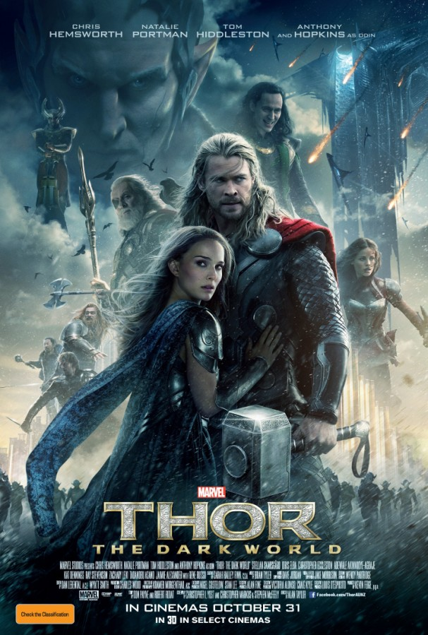 Thor: The Dark World poster (Australia)