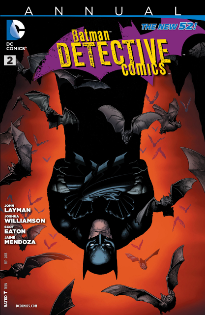 Detective Comics Annual #2 cover