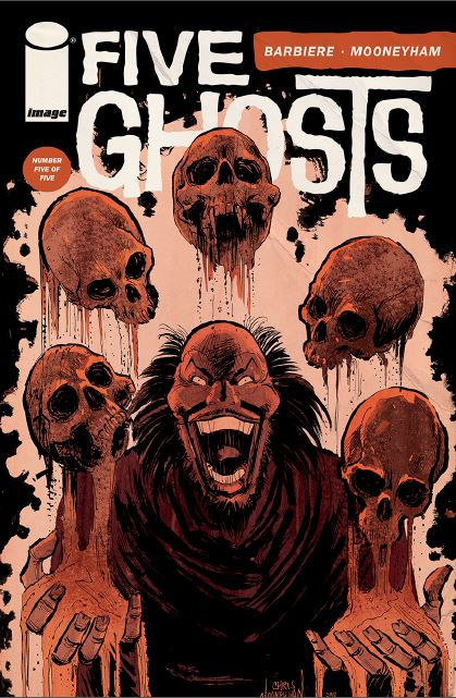 Five Ghosts #5 cover