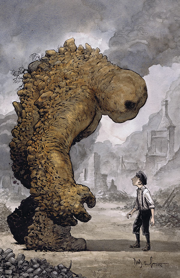 Breath of Bones: A Tale of the Golem #3 (Dark Horse) - Artist: Dave Wachter