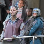 """Guardians of the Galaxy"" Sightings in London - August 11, 2013"