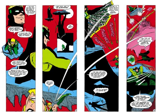 Green Arrow (1983) - Count Vertigo. Artist: Trevor von Eeden