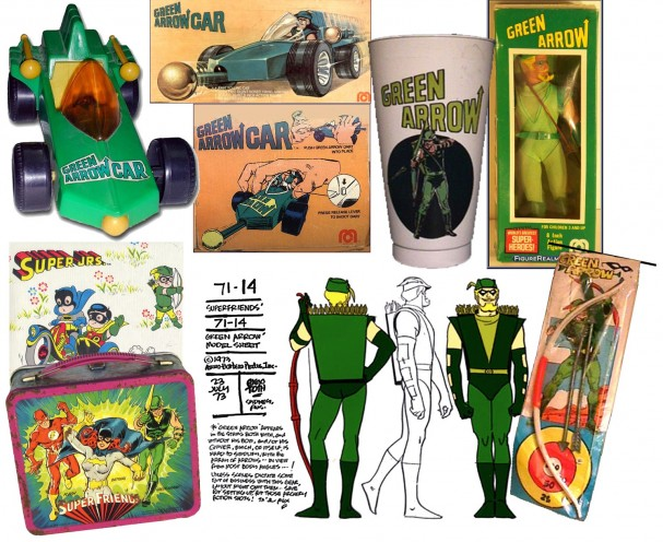 Green Arrow Merchandise 1970s