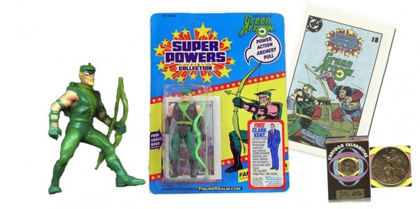 Green Arrow merchandise 1980s